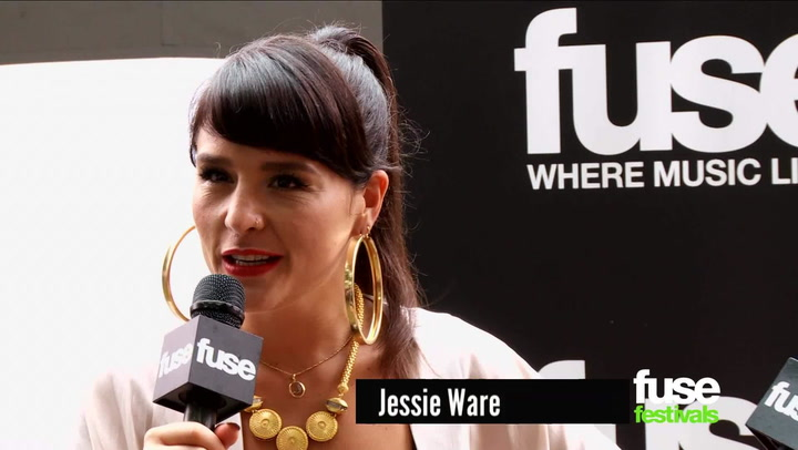 "Festivals: Lollapalooza 2013: Jessie Ware Doesn't Recall If Her Song Is In a ""Lube or Condom"" Ad"