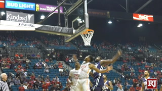 Highlights of UNLV's win over Oral Roberts