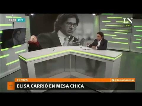 Carrió aseguró que Macri la puede echar de Cambiemos y no  tendría problema en irse
