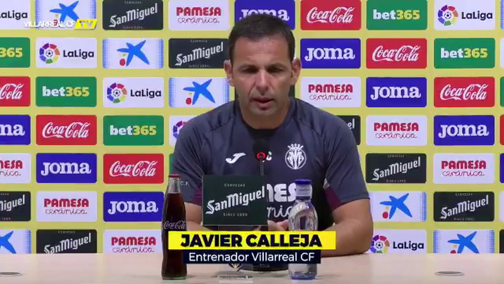 Las claves de Calleja para afrontar el partido ante el CA Osasuna