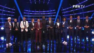 Ellos son los que conforman el 11 ideal de la FIFA
