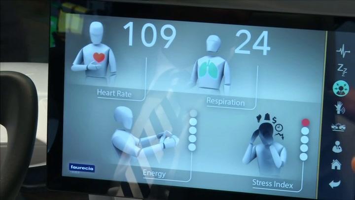 Video: Slimme autostoel houdt stressniveau in de gaten
