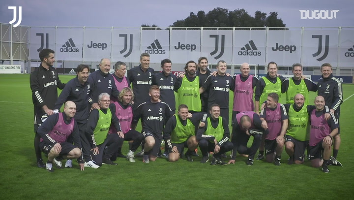 Juventus staff match - Pirlo, Nedved and Tudor all feature