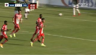El golazo de Luis Palma en el empate del vida ante Marathón