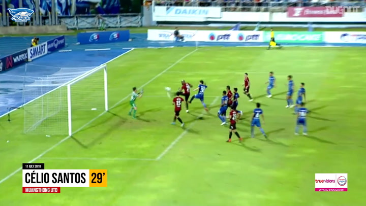 Chonburi FC 5-1 Muangthong United