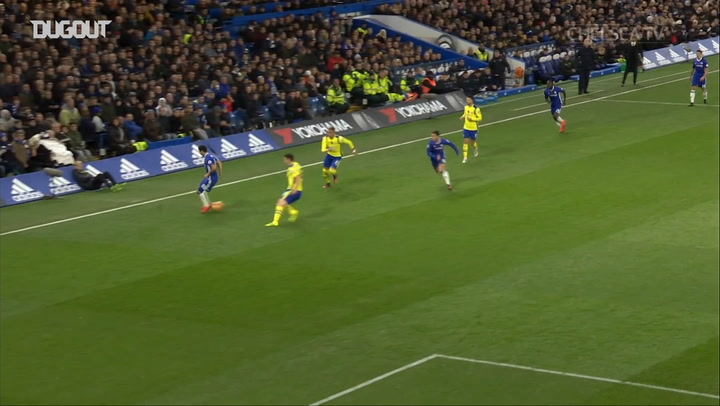 Eden Hazard completes sublime team goal against Everton