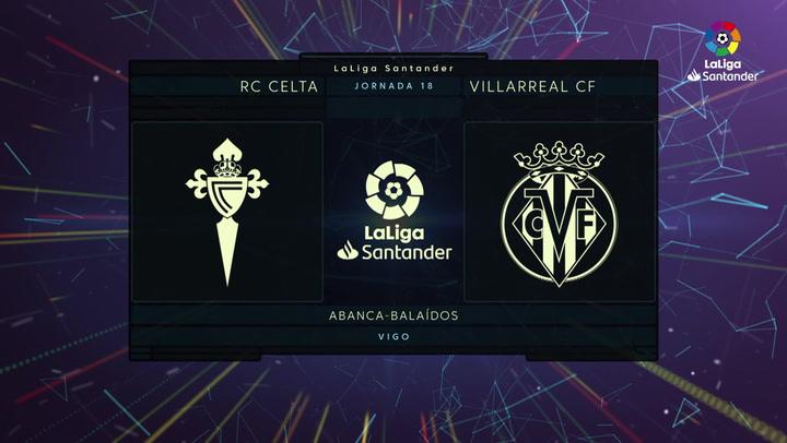 LaLiga Santander (Jornada 18): Celta 0-4 Villarreal