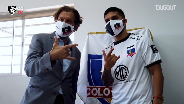 Jara's first day at Colo-Colo
