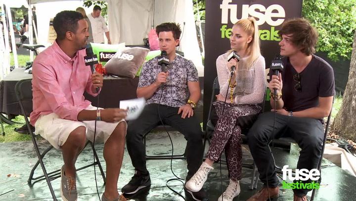 Interviews: Lollapalooza 2014: London Grammar