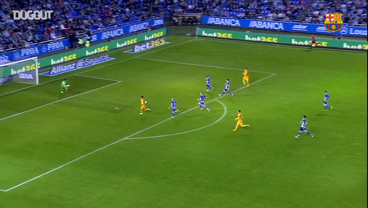 Team Goals: Neymar Helps Barça Thrash Deportivo 8-0