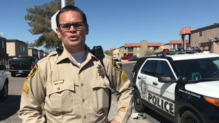 Police talk about restricting vehicle access to Las Vegas neighborhood