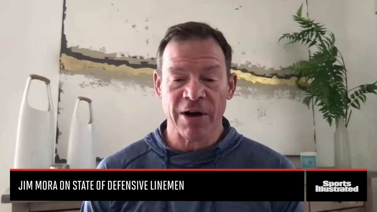 Jim Mora Jr. on the State of the Defensive Line Position