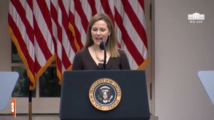 Amy Coney Barrett: 'I Love the United States and I Love the United States Constitution'