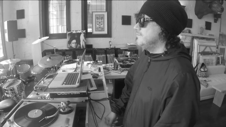 Abstrakto: Watch Ozomatli's Asdru Sierra & Actor Bathazar Getty Talk New Band