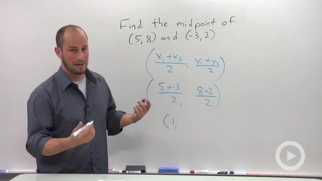Midpoint Formula - Problem 1