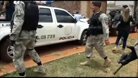 Un total de 76 presos, incluidos 40 brasileños, escapan de una cárcel de Paraguay