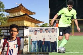 Elías Argueta, el futbolista hondureño que destaca en la primera división de Taiwán desde hace 4 años