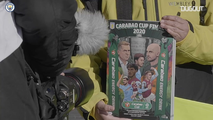 Behind the scenes: Manchester City secure third successive Carabao Cup
