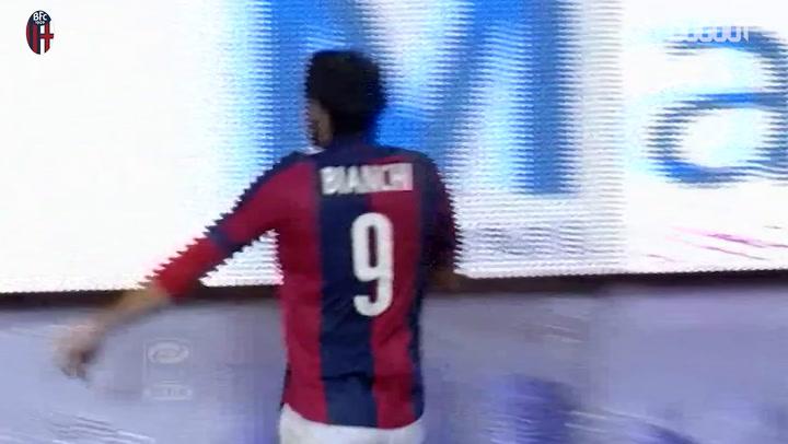 Rolaldo Bianchi's last-gasp equaliser against Napoli