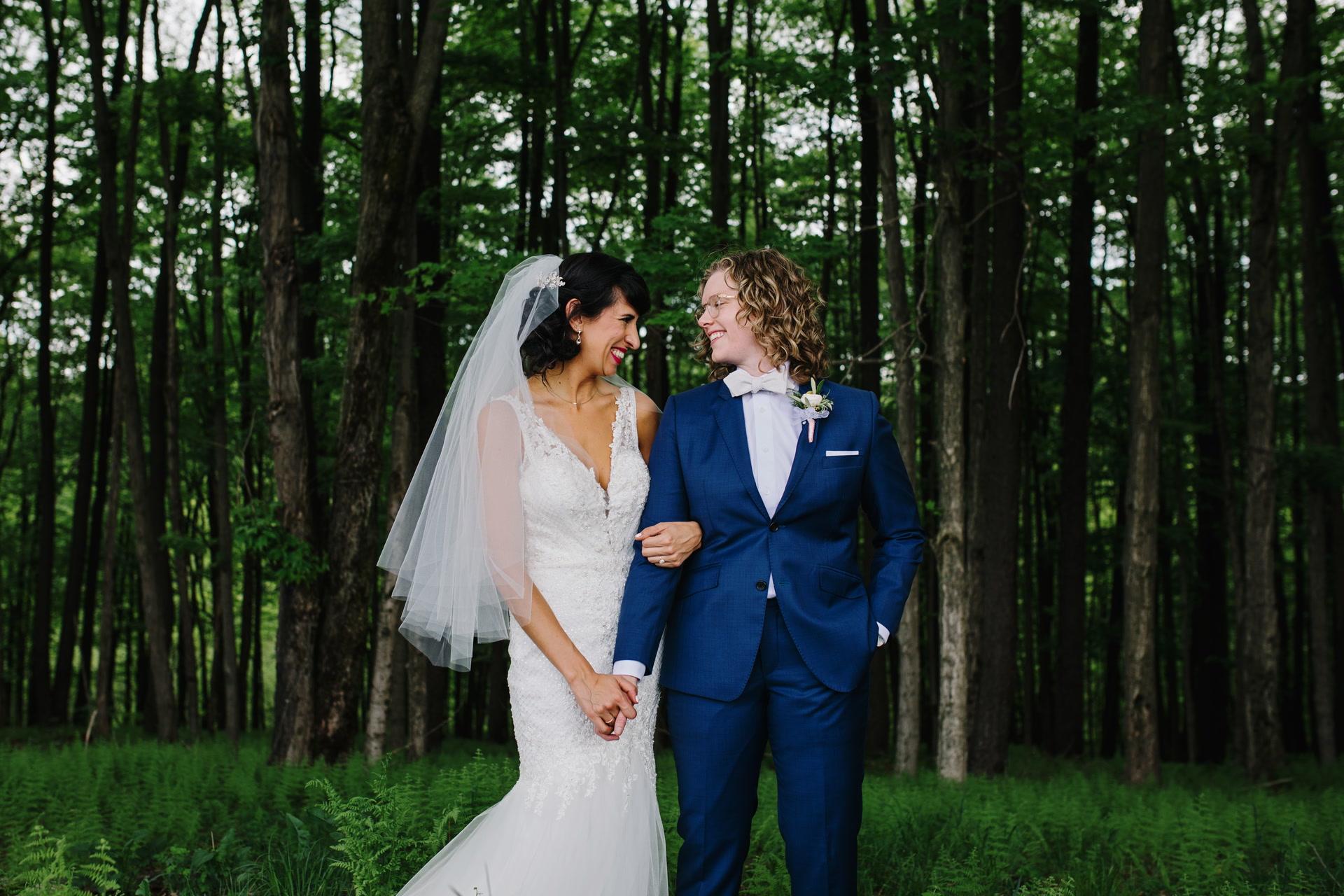 Melissa + Ashley | Thompson, Pennsylvania | Fiddle Lake Farm