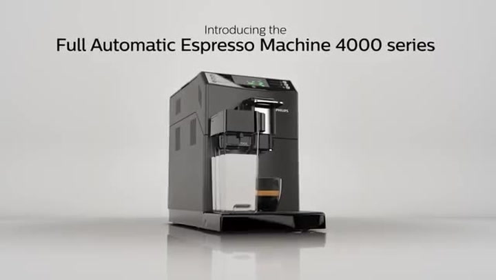 Preview image of Philips 4000 Series  Super-Automatic Espresso Mach video