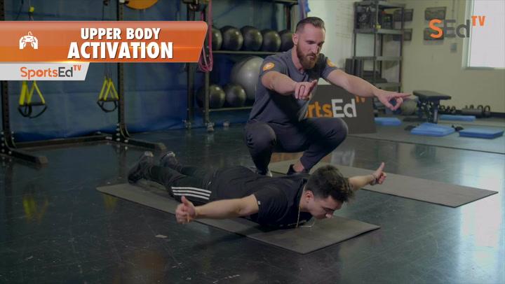 Prepare to Win:  Upper Body Activation for Esports 3