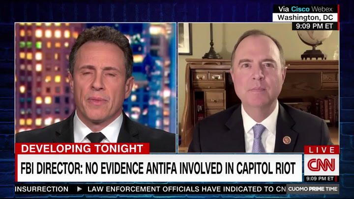 Schiff: Investigating if DHS, FBI Was Discouraged From Pursuing White Nationalists Trump Supporters