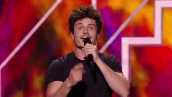 Miki exhibe 'La Venda' en la primera semifinal de Eurovisión 2019