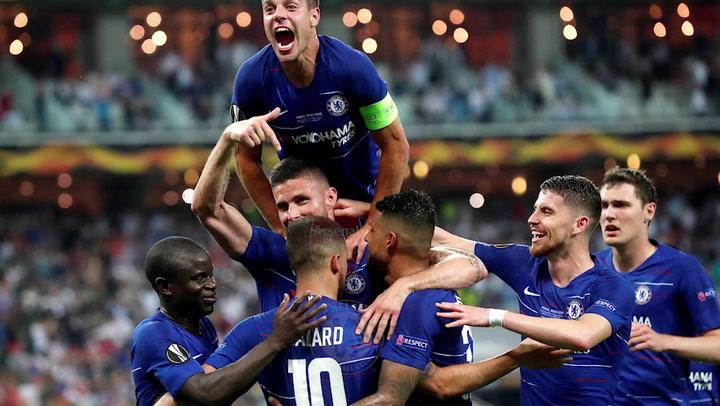 El resumen en imágenes de la victoria del Chelsea ante el Arsenal en la final de la Europa League