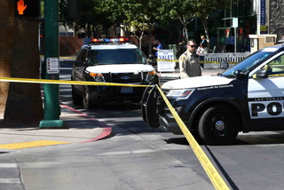 Suspect arrested in Las Vegas courthouse hit-and-run