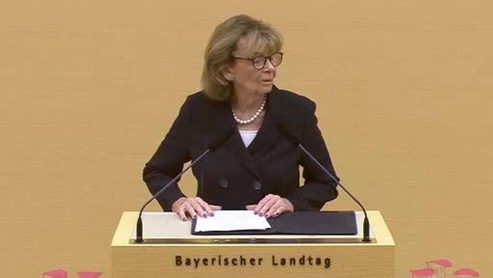 Holocaust-Gedenkakt im Landtag am 23.01.2018 - Rede Dr. h.c. Charlotte Knobloch