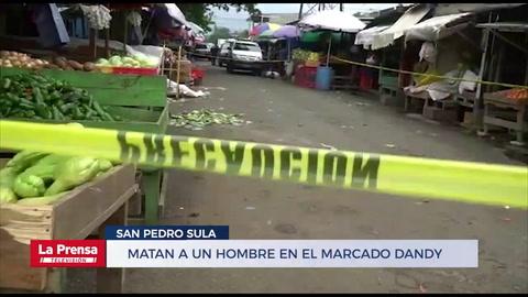 Matan a un hombre en el marcado Dandy de San Pedro Sula