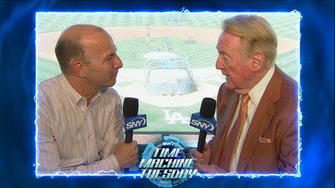 Time Machine Tuesday: Gary Cohen and Vin Scully talk Brooklyn Dodgers