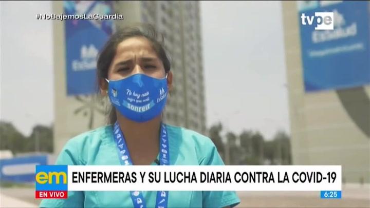 Día de la Mujer: enfermeras y su lucha diaria contra la covid-19