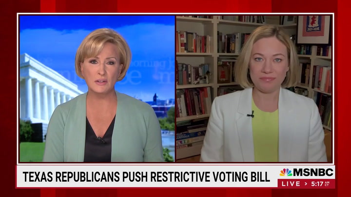 Brzezinski: Texas GOP Pushing 'Big Lie' with Election Law -- 'Could Destabilize This Country for Administrations to Come'
