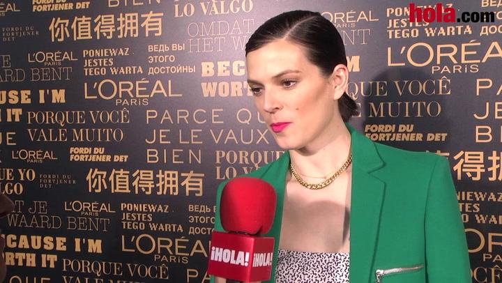 Bimba Bosé: 'La moda española no tiene nada que envidiar a la de ningún otro país'