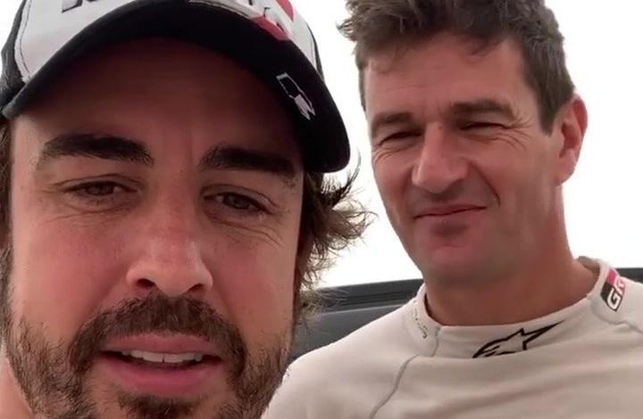 """Alonso: """"Ahora sí que estamos listos para el Dakar"""""""