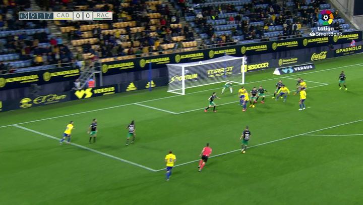 El Carranza estalló con el gol de Cala en el minuto 92