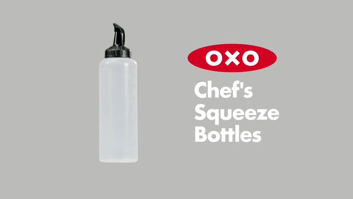 Preview image of OXO Good Grips Chefs Squeeze Bottle video