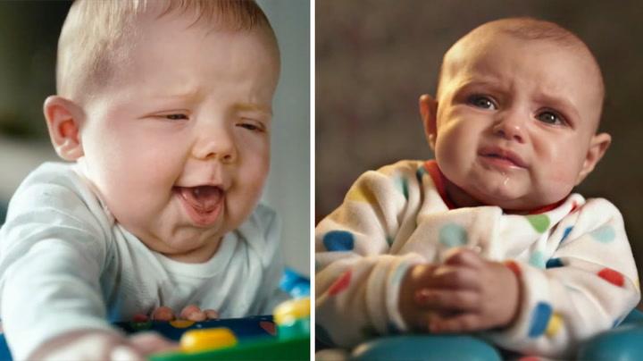 Slik ser babyer ut når de bæsjer