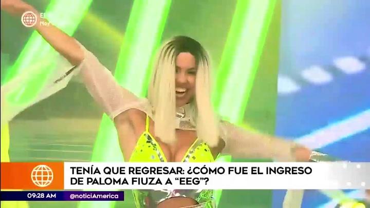 Paloma Fiuza regresó a  Esto es guerra 2021 con radical cambió de look