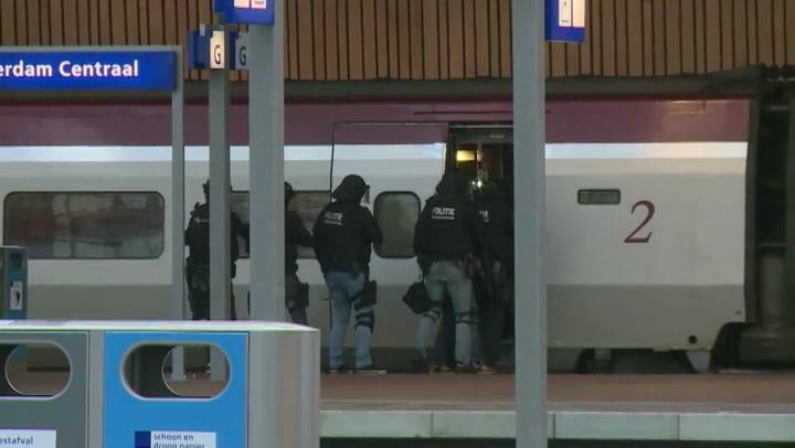 Man uit Thalys niet vervolgd