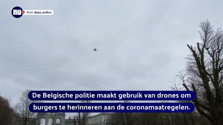 Drones in België en Frankrijk