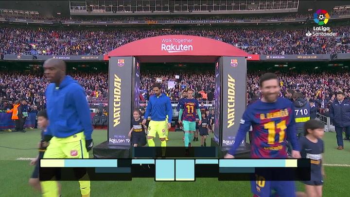 LaLiga (J24): Resumen y goles del Barcelona 2-1 Getafe