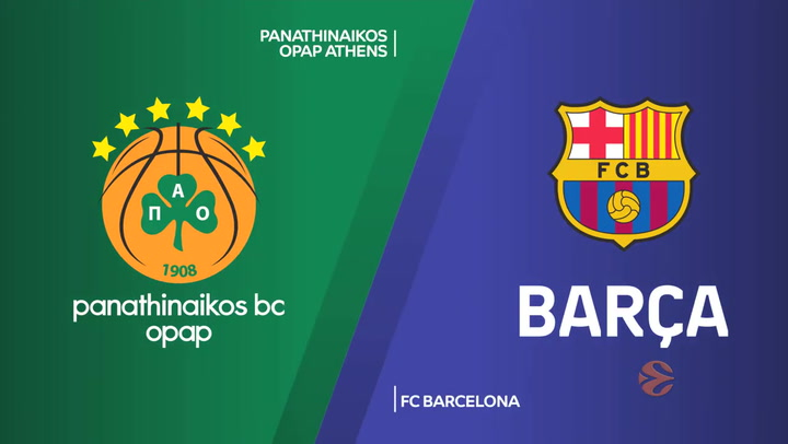 Euroliga: Panathinaikos OPAP Athens - FC Barcelona