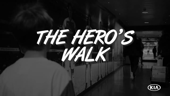 The Hero's Walk As An Official Match Ball Carrier