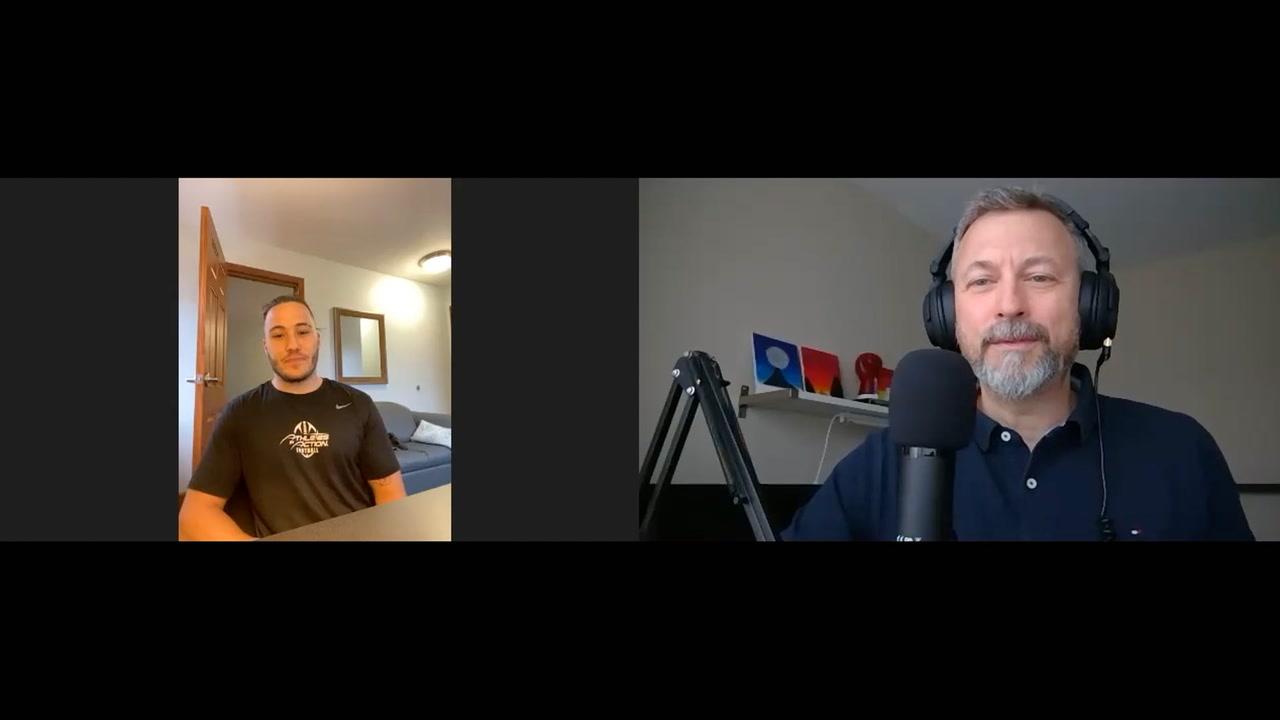 Entrevue avec Tommy Roadley Trohatos à la veille de son pro-day [BALADO AUDIO ET VIDÉO]