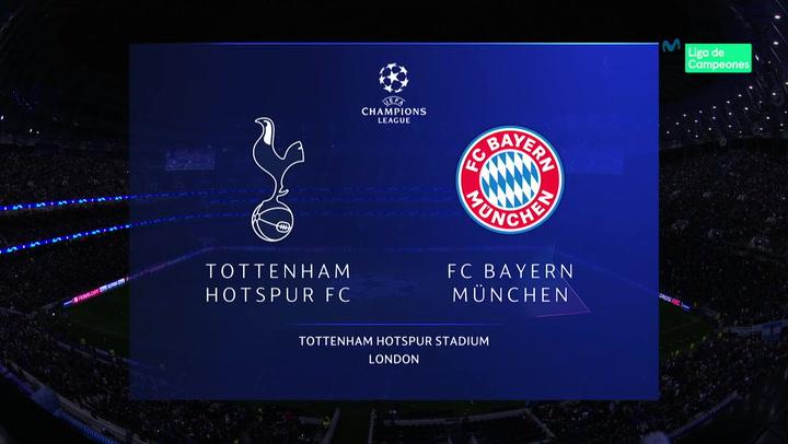 Champions League: Resumen y Goles del Partido Tottenham-Bayern
