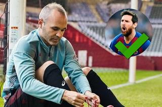 Iniesta diseña su jugador perfecto metiendo a dos futbolistas que odian en Barcelona