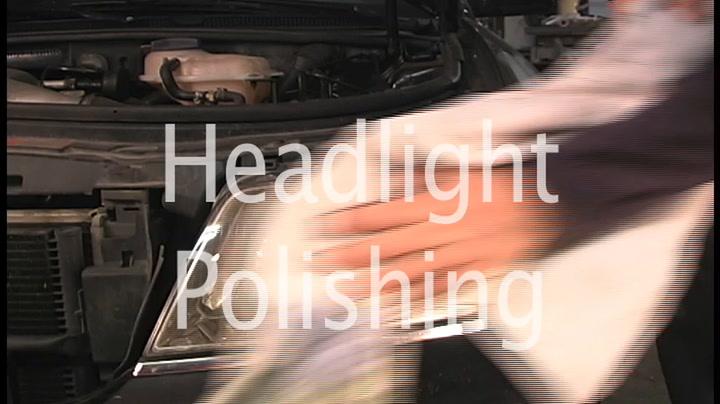 The American Garage- Headlight Polishing